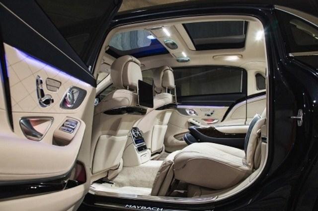 Mercedes Maybach S450 4MATIC model 2019 đã qua sử dụng