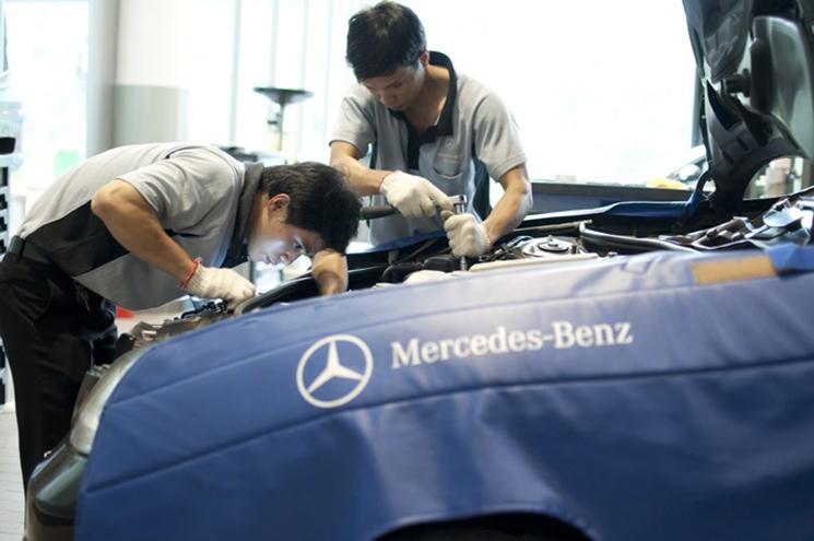 Việt Nam Star Trường Chinh - Đại lý chính thức của Mercedes tại TP.HCM