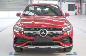 Đánh giá xe Mercedes-Benz GLC 300 4Matic Coupe
