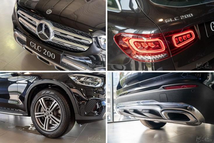 Đánh giá xe Mercedes-Benz GLC 200 2020