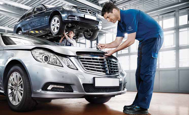 Bảo dưỡng xe Mercedes