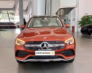Mercedes GLC 300 4MATIC 2020 phiên bản nâng cấp Đỏ