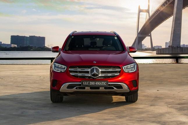 Đánh giá xe Mercedes-Benz GLC 200 4Matic 2020